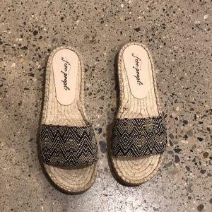 Free people - beach front espadrille
